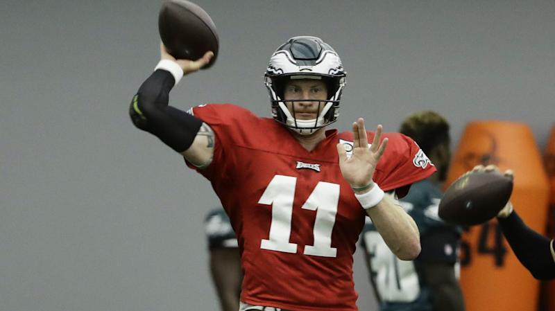 Eagles' Doug Pederson: Carson Wentz is back!