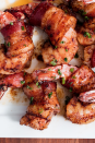 """<p>I bet we had you at <a href=""""https://www.delish.com/uk/cooking/recipes/a30208165/how-to-cook-bacon-in-the-oven-recipe/"""" rel=""""nofollow noopener"""" target=""""_blank"""" data-ylk=""""slk:bacon"""" class=""""link rapid-noclick-resp"""">bacon</a>. </p><p>Get the <a href=""""https://www.delish.com/uk/cooking/recipes/a32608976/easy-bacon-wrapped-shrimp-recipe/"""" rel=""""nofollow noopener"""" target=""""_blank"""" data-ylk=""""slk:Bacon-Wrapped Prawns"""" class=""""link rapid-noclick-resp"""">Bacon-Wrapped Prawns</a> recipe. </p>"""