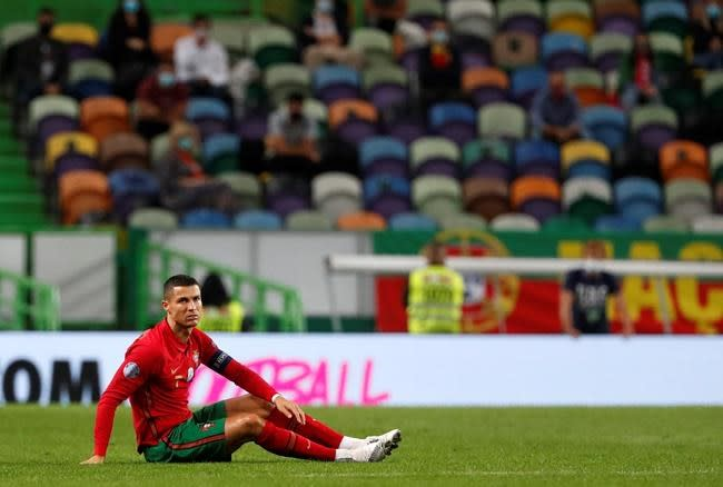 With fans in stands, Portugal draws with Spain in friendly