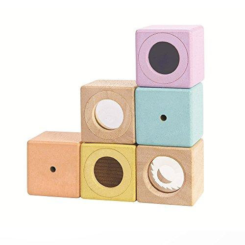 PlanToys Wooden Sensory Blocks (Amazon / Amazon)