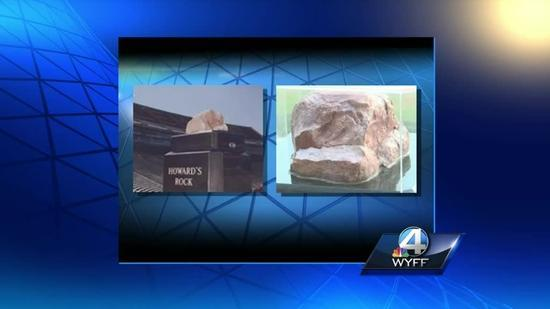 Howard S Rock Vandalized In Death Valley Video Howard's rock is a large piece of quartzite that is displayed in clemson university's memorial stadium. yahoo finance