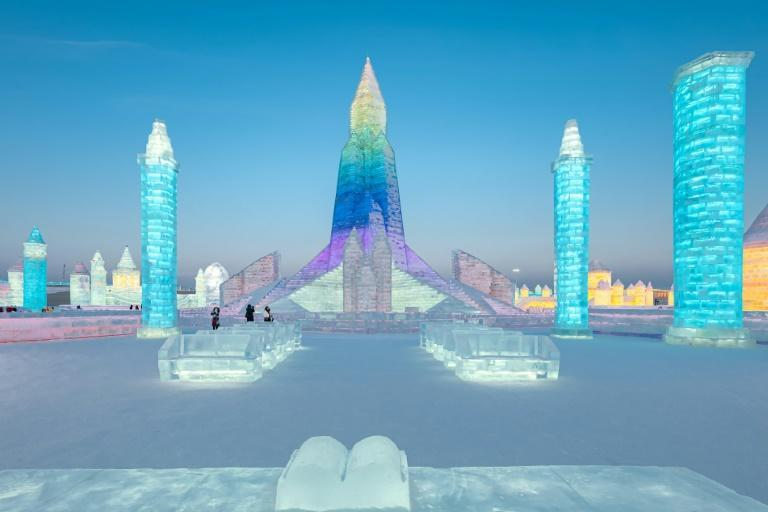 The Harbin ice sculpture festival, featuring glittering ice palaces and fantastical scenes, has drawn millions over the years to one of China's coldest cities, where temperatures are set to dip to minus 30C over the next few days