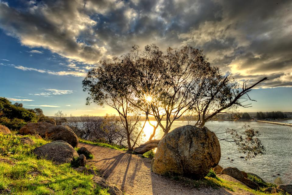 Granite Island Nature Park view to Victor Habor