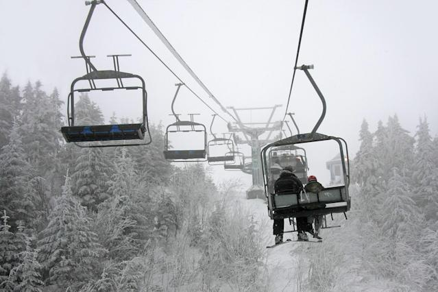 Ski lift at Tremblant, Quebec. (Getty)