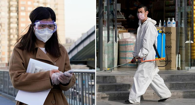 Life is far from normal in Beijing amid fears of a second wave of coronavirus cases. Source: AAP