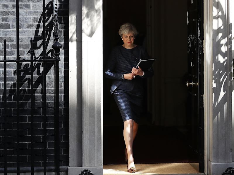 Critics, including Blair, say May has called the election now because she fears voters will come to regret their decision as the cold reality of Brexit dawns: Getty