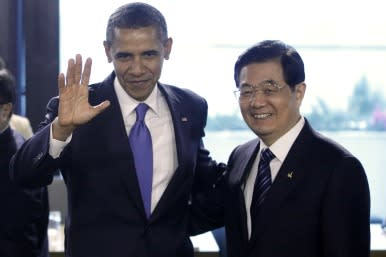 Presidents of China and US