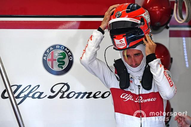 "Robert Kubica, Alfa Romeo <span class=""copyright"">Mark Sutton / Motorsport Images</span>"