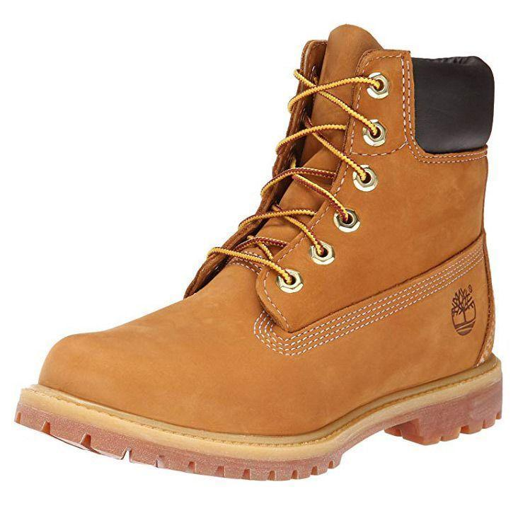 """<p><strong>Timberland</strong></p><p>timberland.com</p><p><strong>$170.00</strong></p><p><a href=""""https://go.redirectingat.com?id=74968X1596630&url=https%3A%2F%2Fwww.timberland.com%2Fshop%2Fwomens-winter-boots%2Fwomens-6-inch-premium-waterproof-boots-10361024&sref=https%3A%2F%2Fwww.goodhousekeeping.com%2Fclothing%2Fg29389536%2Fbest-winter-boots-for-women%2F"""" rel=""""nofollow noopener"""" target=""""_blank"""" data-ylk=""""slk:Shop Now"""" class=""""link rapid-noclick-resp"""">Shop Now</a></p><p>These classic Timberland boots have been redesigned with women in mind. They are made with a waterproof treated leather upper, rubber sole, and nylon boot laces. They also feature 200 grams of PrimaLoft insulation for a cozy feel. We love that these boots can be <strong>totally customized by specifying the color of each section</strong><strong> of the boot</strong> – you can finally create your dream pair. </p>"""
