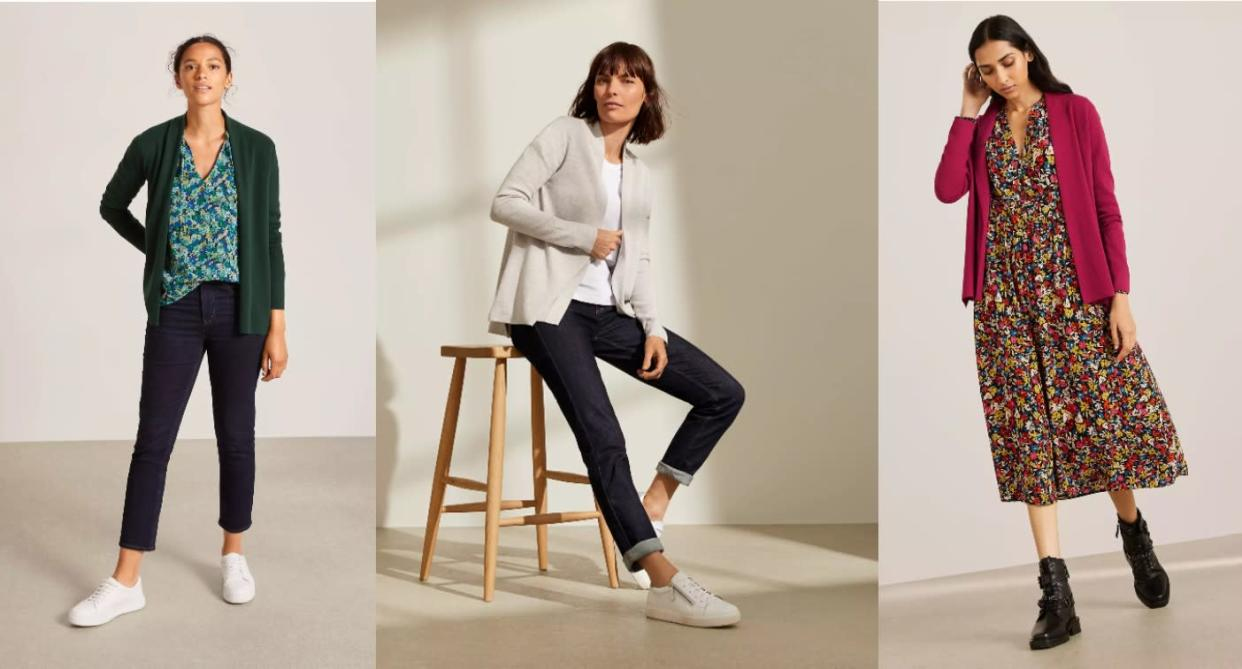 Women are buying this versatile £29 cardi in multiple colours (John Lewis & Partners)