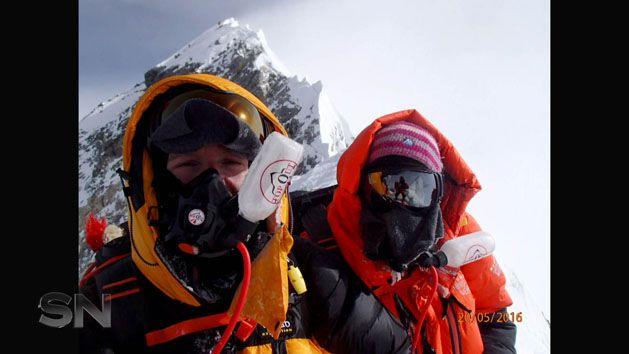 Maria and Rob had conquered six of the seven highest peaks in the world