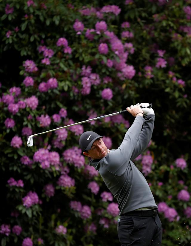 Golf - European Tour - BMW PGA Championship - Wentworth Club, Virginia Water, Britain - May 25, 2018 Northern Ireland's Rory McIlroy during the second round Action Images via Reuters/Peter Cziborra