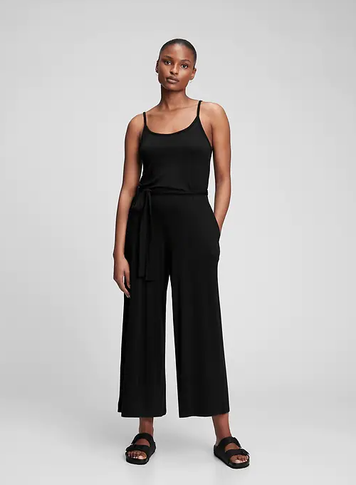 A jumpsuit that's perfect for hot summer nights out.  (Photo: Gap)