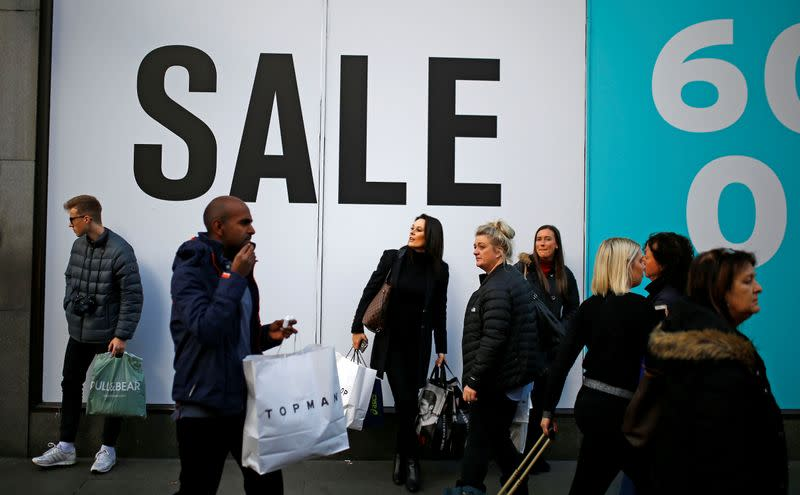 UK shop prices fall by most in nearly two years - BRC