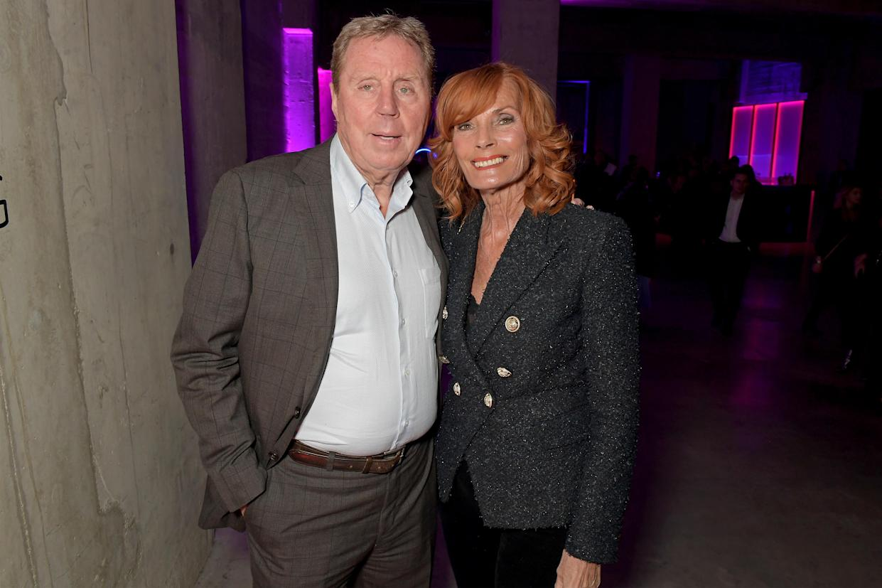 LONDON, ENGLAND - FEBRUARY 12:  Harry Redknapp and Sandra Harris attend the Sky TV, Up Next Event at Tate Modern on February 12, 2020 in London, England. Up Next is Skys inaugural showcase event to promote the quality and range of programming that will be on air in 2020, to an audience of 250+ industry experts and media. (Photo by David M. Benett/Dave Benett/Getty Images for Sky)