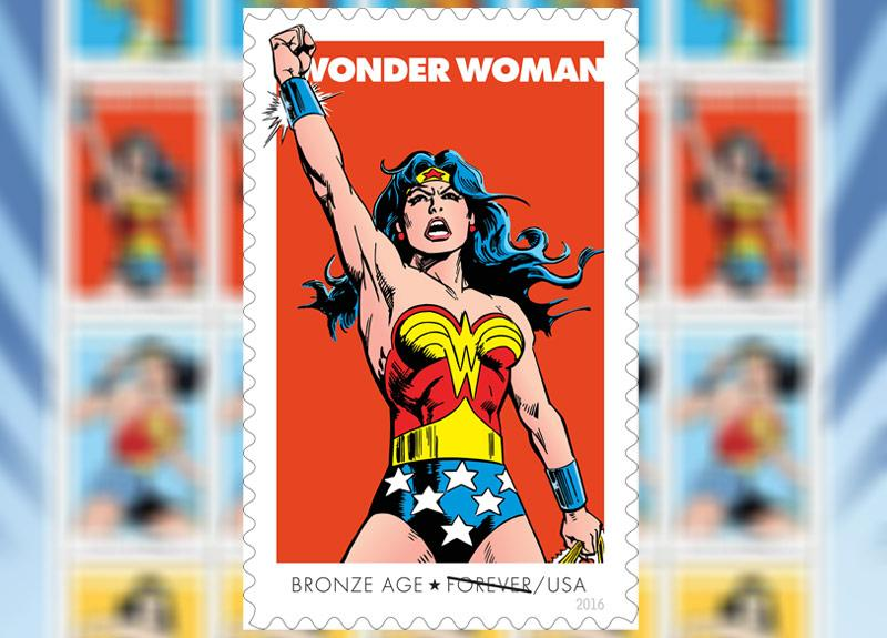 Wonder Woman Gets An Official Stamp Collection For Her Diamond