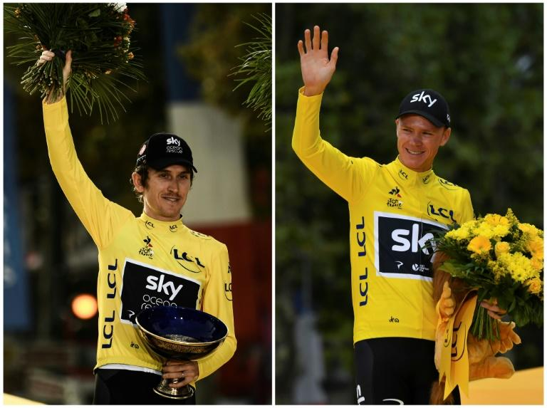 Changing of the guard as ex-Tour champions Froome and Thomas left out of Ineos team