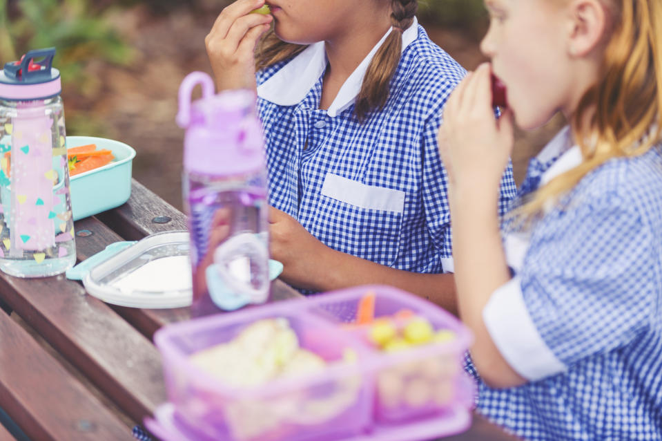 Should school packed lunches be banned? [Photo: Getty]