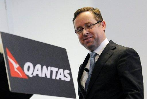 Embattled Qantas chief forgoes bonus and pay rise