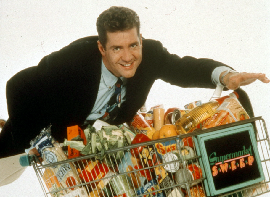 <p>Dale Winton became a household name after presenting Supermarket Sweep from 1993 to 2001 before a 2007 reboot. (Rex) </p>
