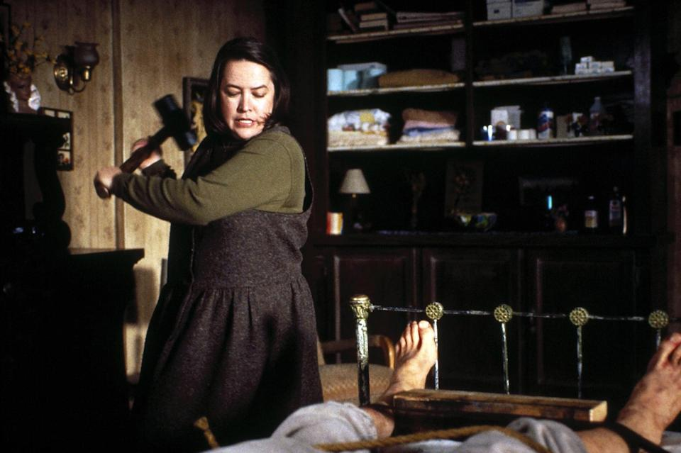 <p>Kathy Bates won an Academy Award for her portrayal of the deranged Annie Wilkes in <strong>Misery</strong>. Given how rare it is for the Oscars to acknowledge horror movies at all, this speaks volumes about her performance. Still, it's easy to forget the sheer amount of terror this film about an overzealous fan kidnapping her favorite author packs in. </p> <p>The movie contains plenty of heart-stopping moments, but the most memorable scene is still also the most frightening. Few things in cinema history can top the horror of watching Annie smash James Caan's character's legs with a sledgehammer leaving him shattered and at the mercy of a fan who wants him to keep her fragile fantasy world alive.</p>