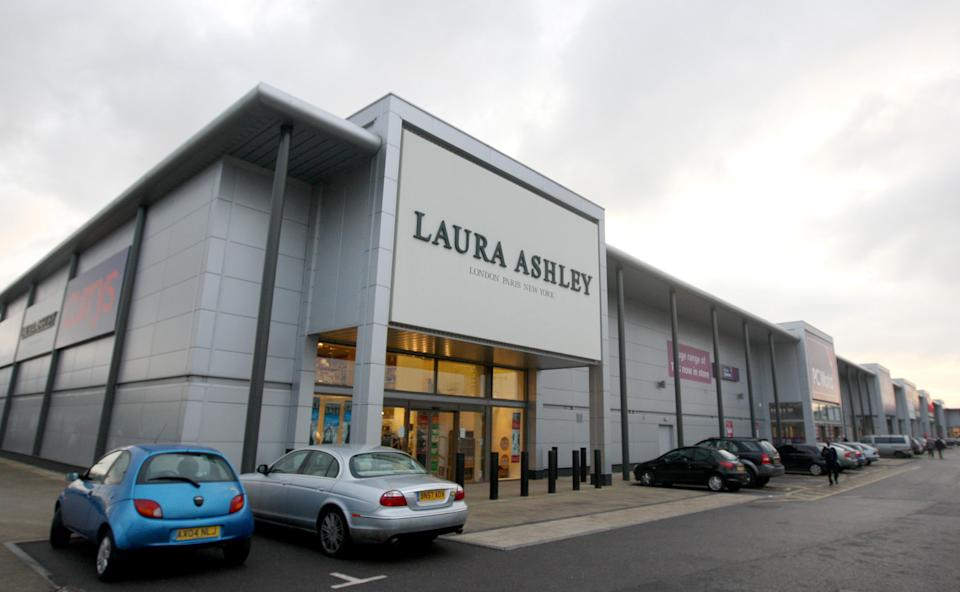 A general view of the Laura Ashley store in the Brunel Retail Park in Reading, Berkshire, where Asha Muneer, who was found stabbed to death next to the River Kennet, worked.