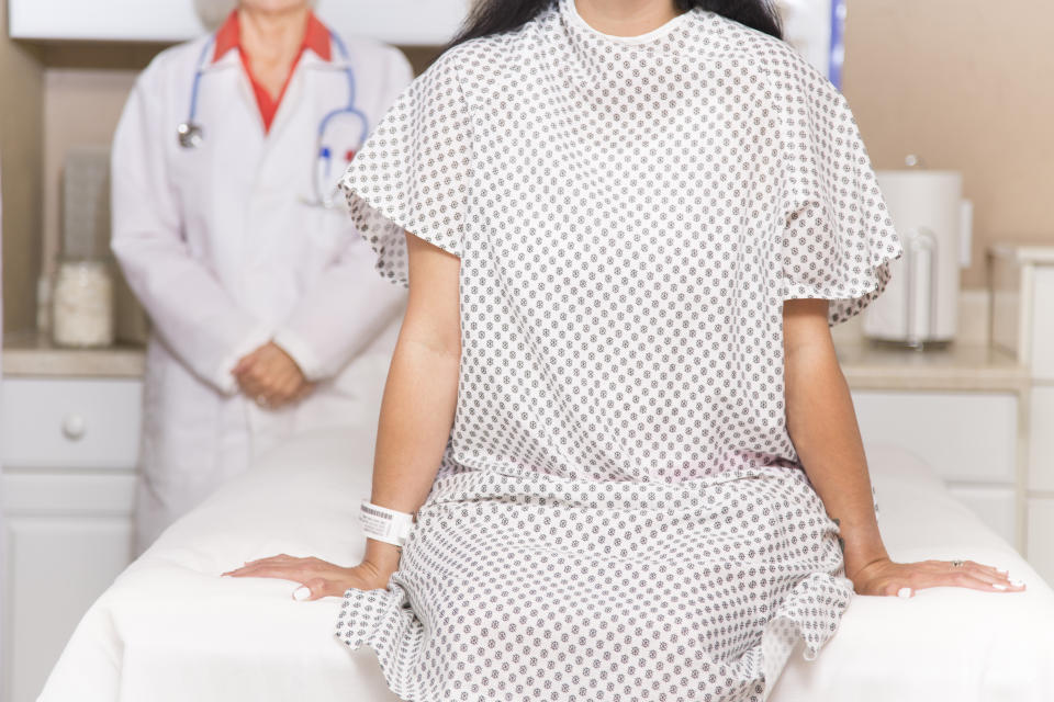 Women are less likely to share breast health concerns amid the pandemic. (Getty Images)