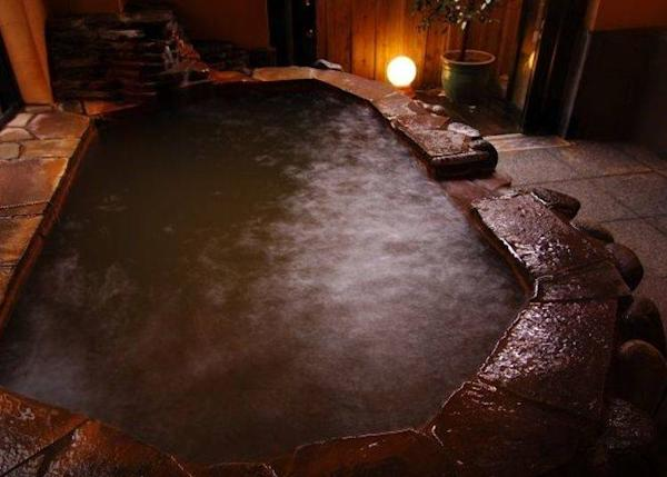 ▲ Kaze Midori no Yu is a bath that can be reserved. This is a good place to spend quiet time alone.