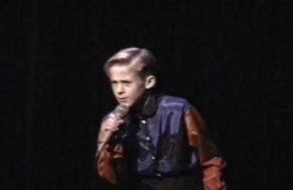 """2. Young Gosling singing """"When a Man Loves a Woman"""" and breaking it down It's almost enough to make you burn all the home movies of your own childhood talent shows because, really, we did not have movies like Ryan Gosling did in 1991. Nor did we have the pipes or the snazzy purple and red button-down shirt. Seeing this video makes everyone's life suddenly very clear: there are people who enjoy dancing and singing, there are people who are meant to dance and sing, and then there's 10-year-old Ryan Gosling. Also, Gary Saldivia, the owner of the footage, said Gosling """"used to always carry around Bubblicious bubble gum and give me some."""" Even as a kid, Gosling was way more awesome than we will ever be."""