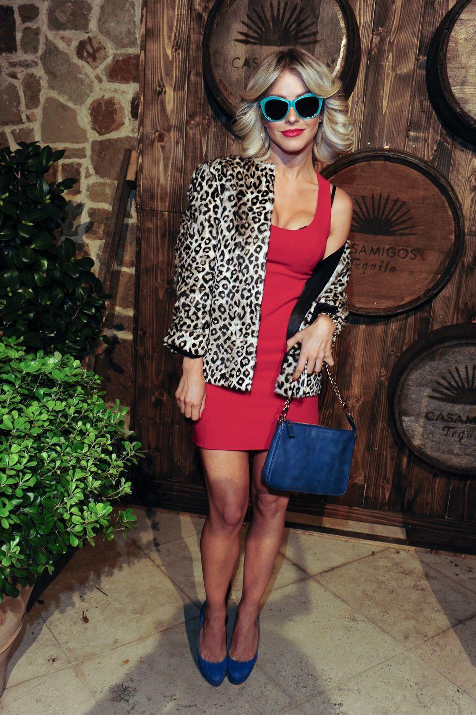 """<p>To channel Alabama Whitman from <em>True Romance</em>, you just need a red dress, leopard-print jacket, and some shades. </p><p><strong>What You'll Need:</strong> <a href=""""https://www.amazon.com/Womens-Sleeveless-Stretchy-Casual-Bodycon/dp/B08SJVWDNV?tag=syn-yahoo-20&ascsubtag=%5Bartid%7C10070.g.28166042%5Bsrc%7Cyahoo-us"""" rel=""""nofollow noopener"""" target=""""_blank"""" data-ylk=""""slk:red dress"""" class=""""link rapid-noclick-resp"""">red dress</a>, <a href=""""https://www.amazon.com/Sleeve-Overcoat-Fluffy-Jacket-Leopard/dp/B01M5LIWPO?tag=syn-yahoo-20&ascsubtag=%5Bartid%7C10070.g.28166042%5Bsrc%7Cyahoo-us"""" rel=""""nofollow noopener"""" target=""""_blank"""" data-ylk=""""slk:leopard jacket"""" class=""""link rapid-noclick-resp"""">leopard jacket</a>, and <a href=""""https://www.amazon.com/Classic-Retro-Vintage-Sunglasses-Turquoise/dp/B00PSFVPNS?tag=syn-yahoo-20&ascsubtag=%5Bartid%7C10070.g.28166042%5Bsrc%7Cyahoo-us"""" rel=""""nofollow noopener"""" target=""""_blank"""" data-ylk=""""slk:blue sunglasses"""" class=""""link rapid-noclick-resp"""">blue sunglasses</a></p>"""