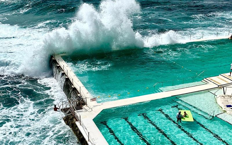The pool at Bondi Icebergs Club, in Sydney. | Jillian Dara