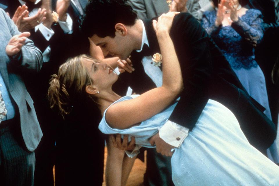 <p>And then he swept Jennifer Aniston off her feet (literally) in <em>The Object of My Affection </em>in 1998. </p>