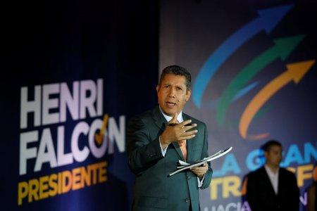 Venezuelan presidential candidate Henri Falcon of the