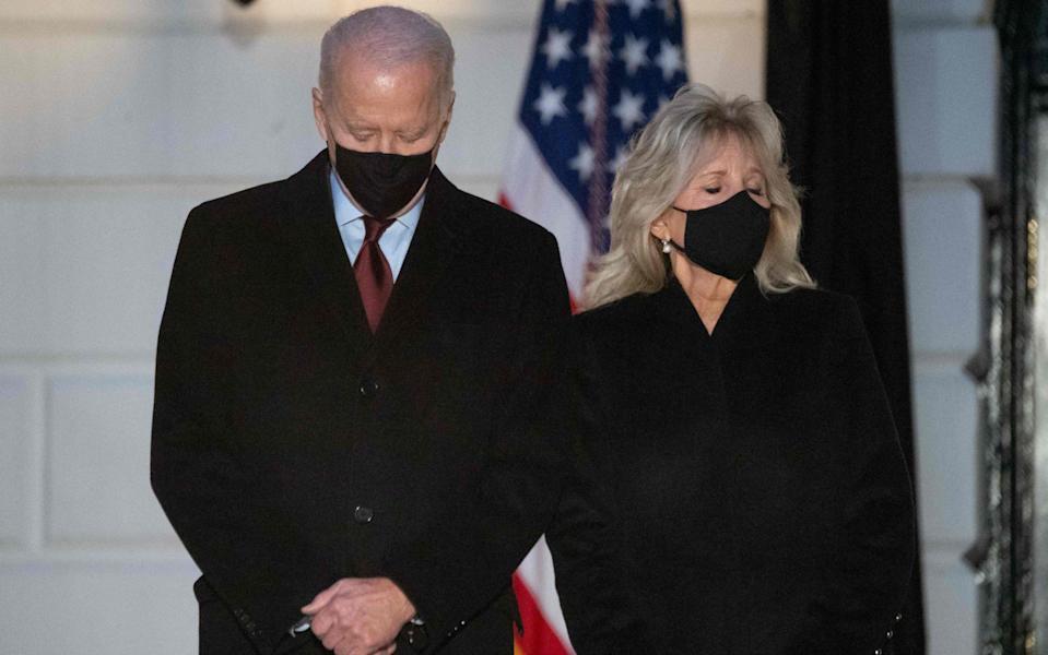 Jill Biden said she would 'never would have met Joe' if she hadn't divorced - AFP