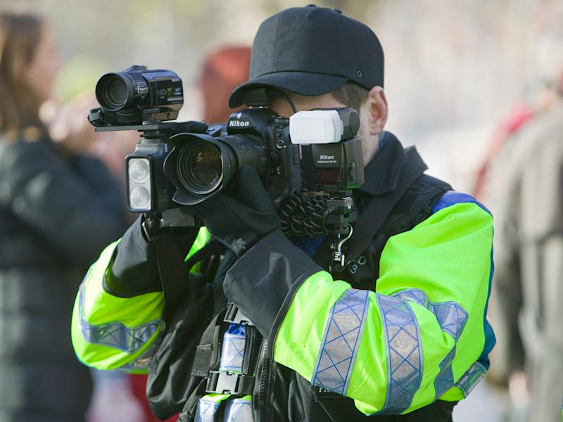 Police now capture images using cameras in public places, as well as of people arrested or questioned: Rex