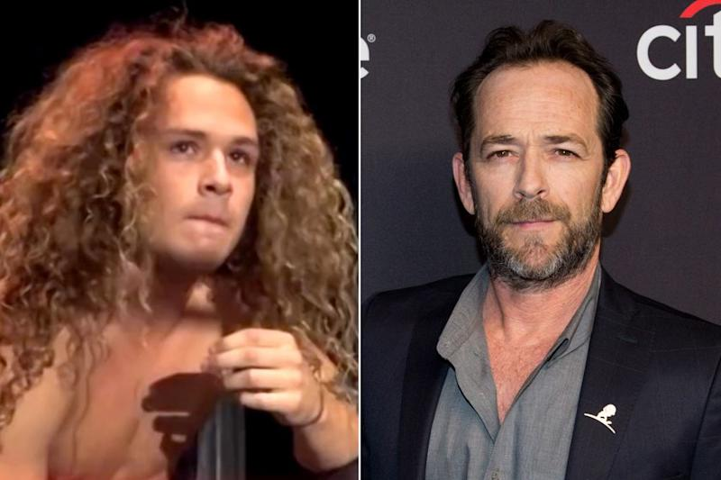 Luke Perry and son Jack | Youtube/Gabriel Olsen/FilmMagic