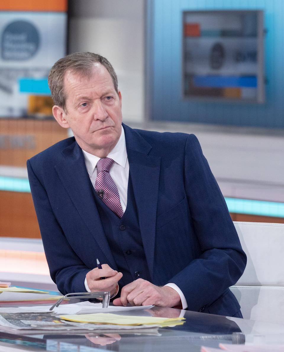 Editorial use only Mandatory Credit: Photo by Ken McKay/ITV/Shutterstock (11896775z) Alastair Campbell 'Good Morning Britain' TV Show, London, UK - 10 May 2021