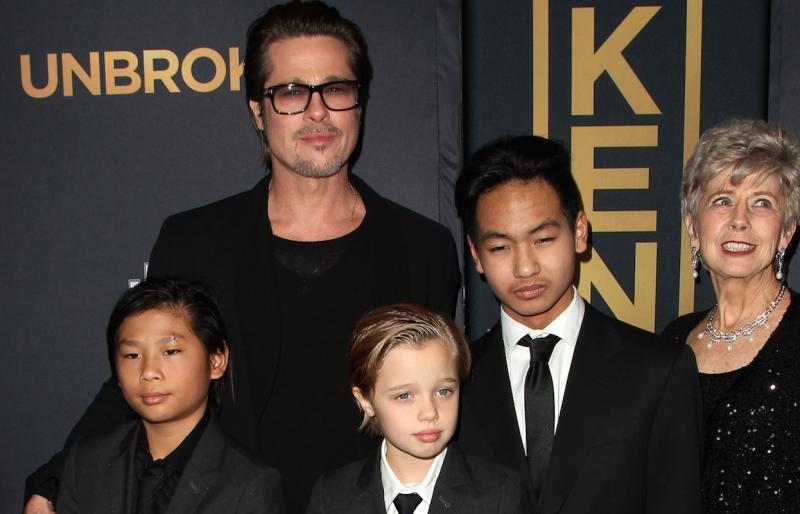 Brad Pitt Worried About Causing 'Psychological Damage To The Kids'