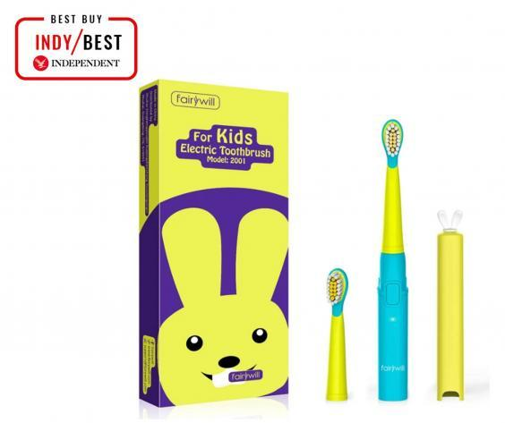 A fun, colourful brush will encourage kids to get into a good routine of brushing their teeth regularly (The Independent)