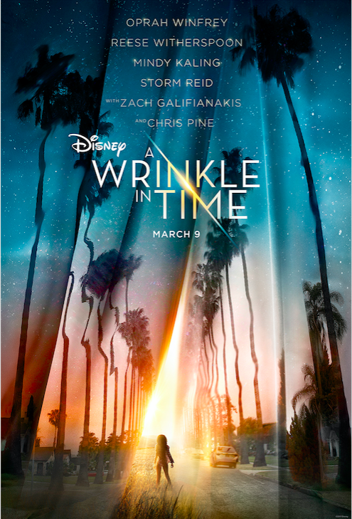 Poster for Disney's 'A Wrinkle in Time,' revealed at D23