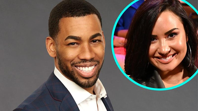 Mike Johnson on Demi Lovato's Kissing Skills and Her Being the 'Aggressor' in the Relationship