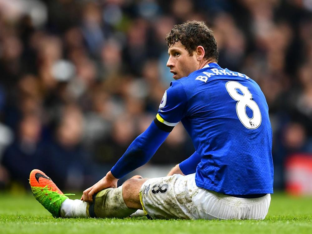 Barkley has yet to sign a new contract (Getty )