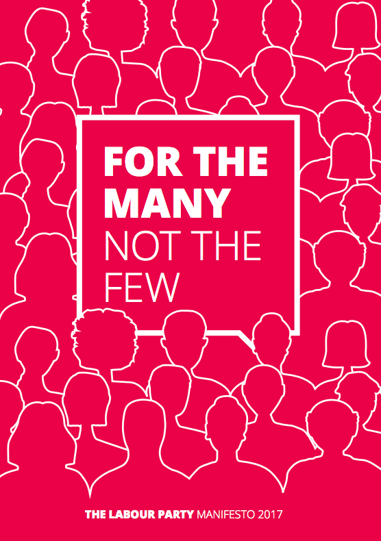 The Labour manifesto front page