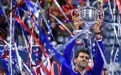<span>Djokovic will be hoping to pocket £2.65m at Flushing Meadows by retaining his title</span> <span>Credit: Getty Images </span>