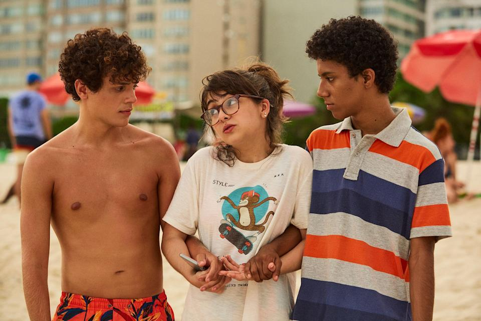 """<strong><em>Confessions Of An Invisible Girl<br><br></em></strong>Who doesn't love a good ol' teen movie? This latest Netflix release follows 16-year-old Tetê as she struggles to fit in at school or home. Then her unemployed parents make the decision to move the family to Copacabana in Rio de Janeiro, in order to live with her grandparents. Faced with a new start at a new school, Tetê is determined to do whatever it takes to have a thriving social life.<br><br>Available 22nd September<span class=""""copyright"""">Photo Courtesy of Netflix.</span>"""