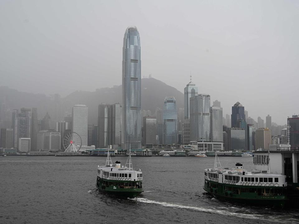 Hong Kong has taken an authoritarian turn after China imposed a new security law last year (AFP via Getty Images)