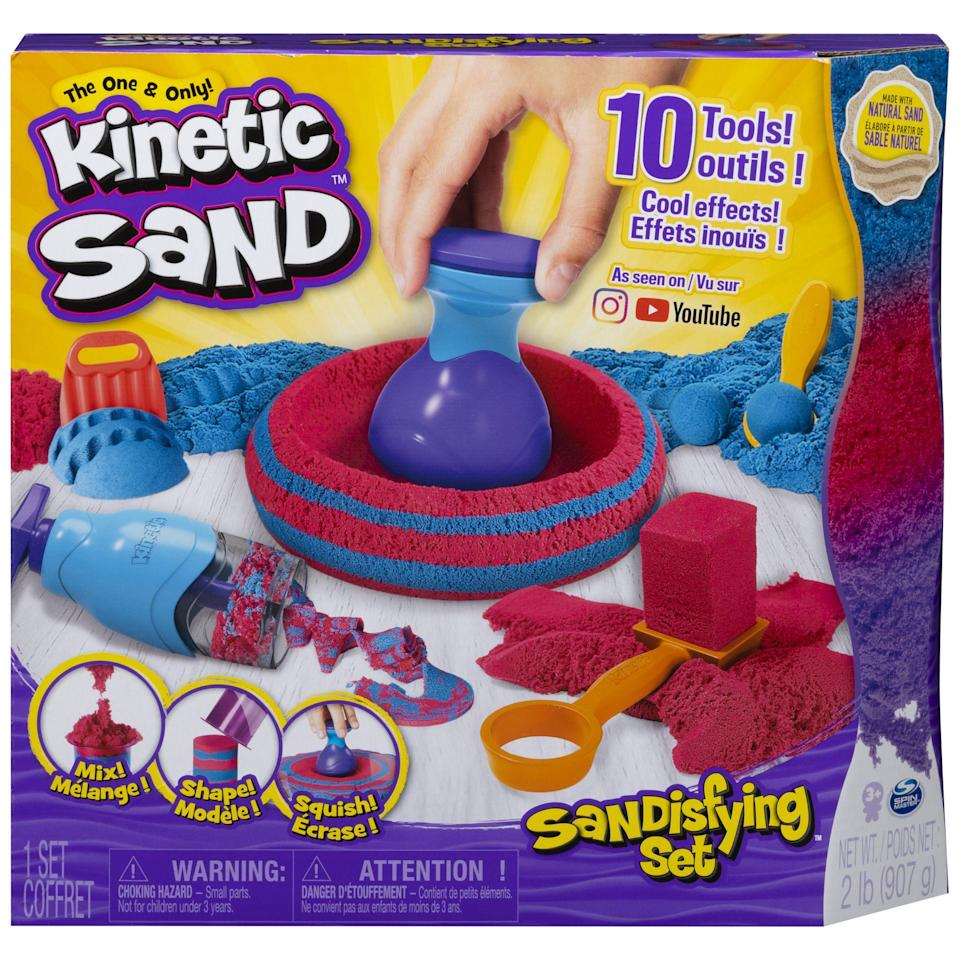 "<p><strong>Kinetic Sand</strong></p><p>walmart.com</p><p><strong>$14.97</strong></p><p><a href=""https://go.redirectingat.com?id=74968X1596630&url=https%3A%2F%2Fwww.walmart.com%2Fip%2F766426834&sref=https%3A%2F%2Fwww.redbookmag.com%2Flife%2Ffriends-family%2Fg34828589%2Fholiday-gifts-for-kids-of-every-age%2F"" rel=""nofollow noopener"" target=""_blank"" data-ylk=""slk:Shop Now"" class=""link rapid-noclick-resp"">Shop Now</a></p>"