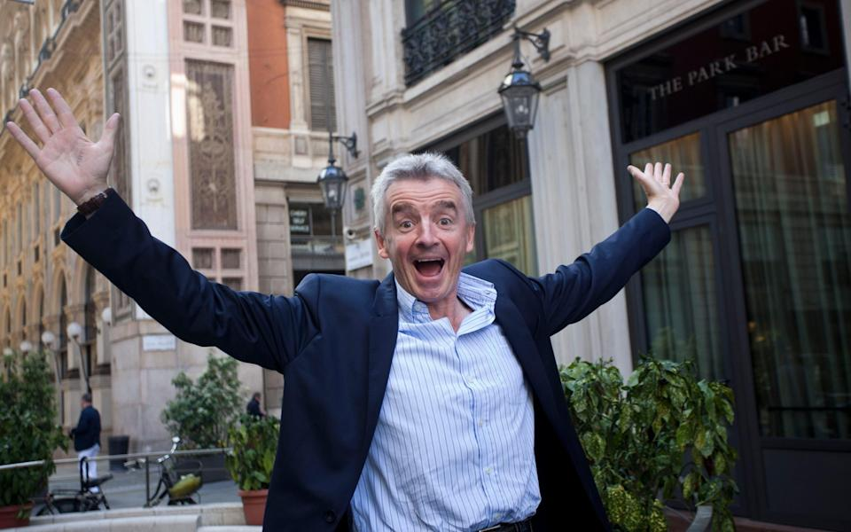 Ryanair CEO Michael O'Leary - Getty