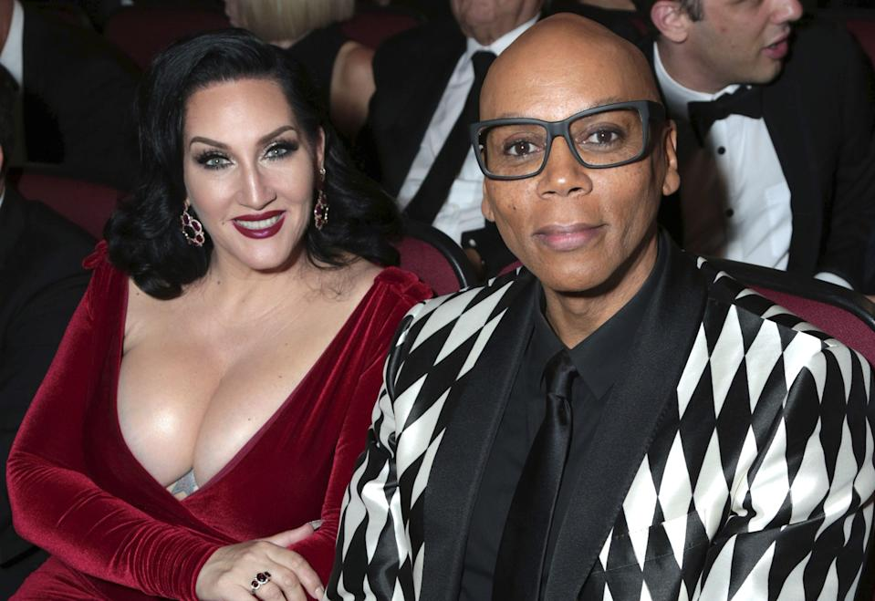 Michelle Visage and RuPaul. (Photo: IndieWire)