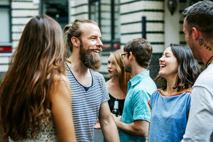 Growing up in the age of social media, millennials are used to sharing things with each other. (Getty Images)